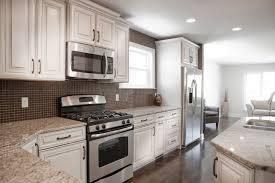 Amazing White Kitchen Cabinets With Granite Countertops Glamorous - White cabinets dark floor bathroom