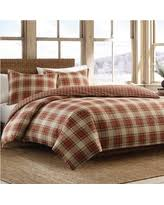 holiday sale eddie bauer alder plaid duvet cover set full queen
