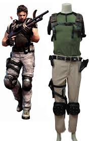 Resident Evil Halloween Costume Resident Evil 5 Chris Cosplay Costumes Cosercosplay