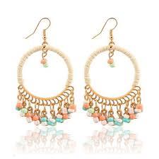 artificial earrings bohemian jhumka style earrings online artificial