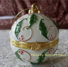 porcelain hinged ornament trinket treasure box ring holder