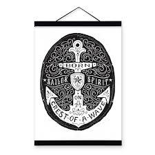 Anchor Print Inspirational Print Quot - modern black white anchor sea inspirational quotes typography