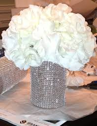 Vase Table Centerpiece Ideas Best 25 Bling Wedding Centerpieces Ideas On Pinterest