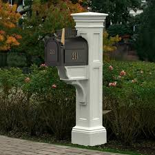 decorative cast iron mailbox post home design stylinghome design