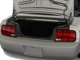 mustang convertible trunk 2008 ford mustang reviews and rating motor trend