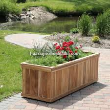 composite landscape timbers good quality wpc plastic composite plank used for timber flower