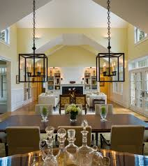 Inspiring Transitional Dining Room Chandeliers Innovative Hurricane Lamps Trend Philadelphia Traditional Dining