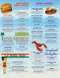family garden menu tommy u0027s family restaurant menu san clemente dineries