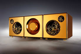 these 5 3 million solid gold speakers are the most extravagant