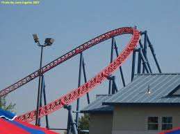 How Far Is Six Flags Bizzaro Six Flags New England In Massachusetts Theme Park Critic