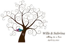 Wedding Tree Empty Tree Template Invitation Templates Clip Art Library