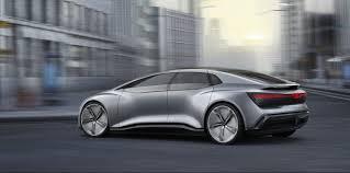 car range audi unveils new all electric autonomous car concept with u0027up to