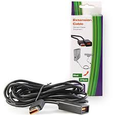 newest 9 feet 2 75m black extend power extension cable cords for