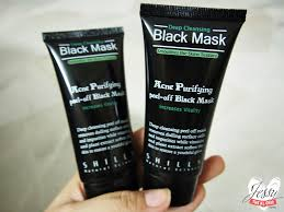 black review shills black mask purifying peel mask review jessy