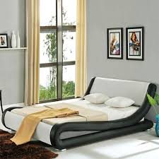 roma italian modern designer leather bed luxury leather beds