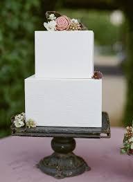 square wedding cakes 8 square wedding cakes for a modern brides