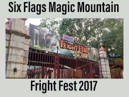 Six Flags Fright Fest California Route To Adventure Six Flags Magic Mountain U0027s Fright Fest 2017