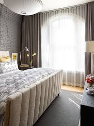 Curtain Ideas For Bedroom How To Use Dark Curtains To Shape A Dramatic Cozy Interior