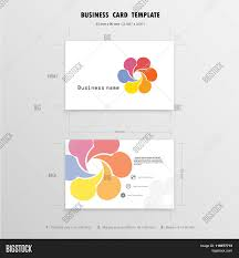 abstract creative business cards design template name cards
