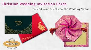 Our Wording Templates Madhurash Christian Wedding Invitation Cards To Lead Your Guests To The