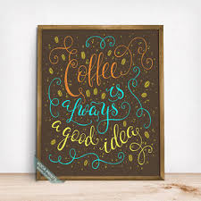 Coffee Wall Decor For Kitchen Best Coffee And Cafe Wall Decor Products On Wanelo