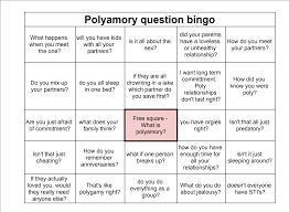 polyamory bingo and answers http imgur com gallery gitm2