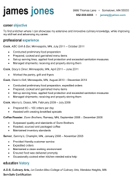 Culinary Resume Samples Free Resume Downloads Resume Templates Downloads Free 24 Cover
