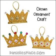 2012 Ornament Exchange Inkablinka - christmas crown ornmament craft for christmas bible lesson the