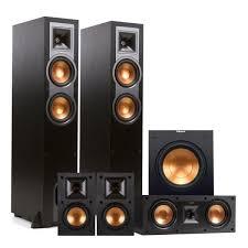 klipsch home theater systems amazon com klipsch r 26f 5 1 reference floorstanding speaker