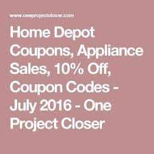 home depot promotion code black friday 2016 best 25 appliance sale ideas on pinterest cookers for sale