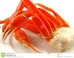 snow crab cluster stock image image 7259231