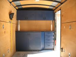 race car trailer cabinets enclosed trailer cabinets diy best cabinets decoration