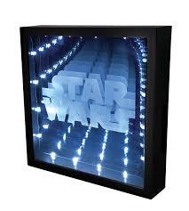 star wars logo infinity light