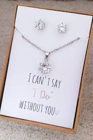 wedding gift necklace gifts for bridesmaids astonishing wedding gifts for bridesmaids 57