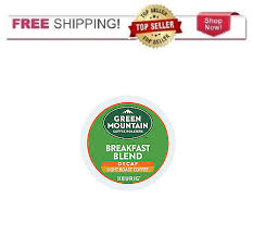 keurig k cups light roast keurig green mountain breakfast blend decaf coffee k cups 18 count