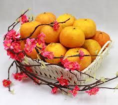 new years basket the best new year gift baskets ideas with mandarin orange