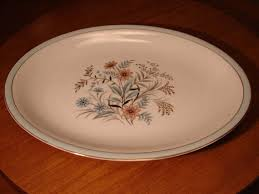 golden china pattern oval platter halsey golden bouquet porcelain china