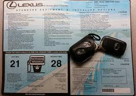 lexus is 350 gas mileage 2006 ca 2006 lexus is350 navigation fully loaded clean title