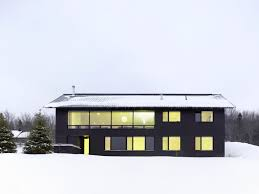 2013 clearview chalet design by akb minimalist architecture