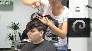 extreme short pixie undercut hair makeover nape buzz cut haircut