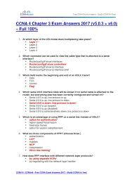 free ccna study guide ccna 4 chapter 3 exam answers 2017 v5 0 3 v6 0 u2013 full 100