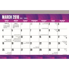 large printdesk pad 9781465088840 calendars com