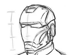 extremely simple way to draw ironman youtube