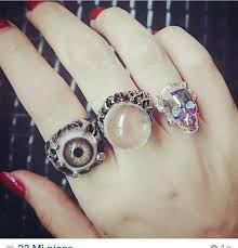 accessories ring necklace images Jewels jewellary ring accessories necklace eyes cool jpg