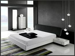 Interior Minimalist Black And White Bedroom Interior Design - Black and white bedroom designs ideas