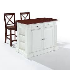 white kitchen island with drop leaf kitchen furnishing decoration brown and white kitchen