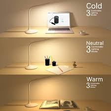 led eye caring desk lamp ixcc flexible dimmable table lamp with
