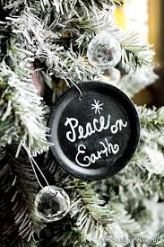 chalkboard jar lid ornaments