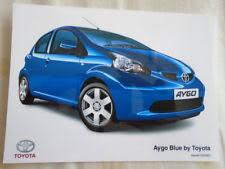 toyota aygo blue in vehicle parts u0026 accessories ebay