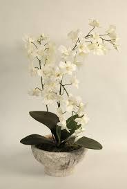 artificial orchids silk flowers artificial arrangements pene dene flowers